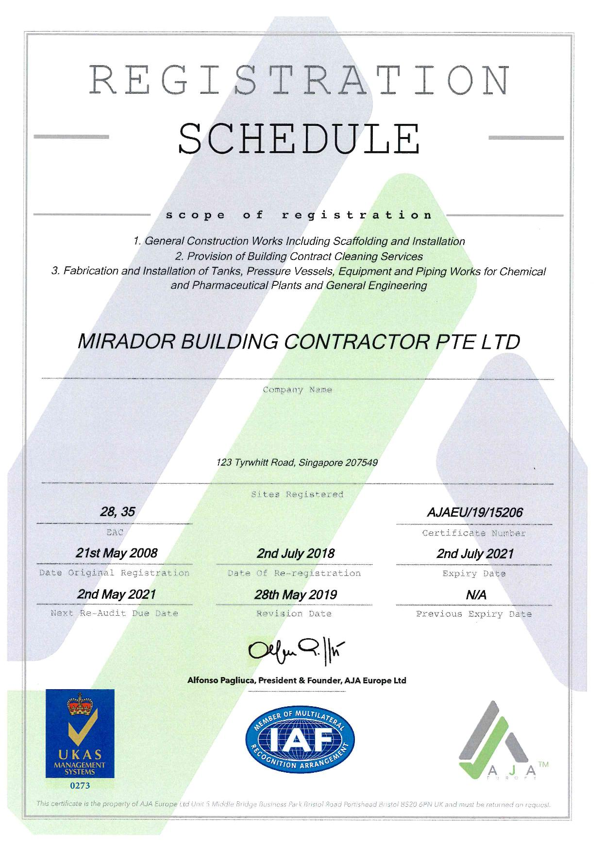 Certification quality scaffolding insulation manpower certifications xflitez Gallery